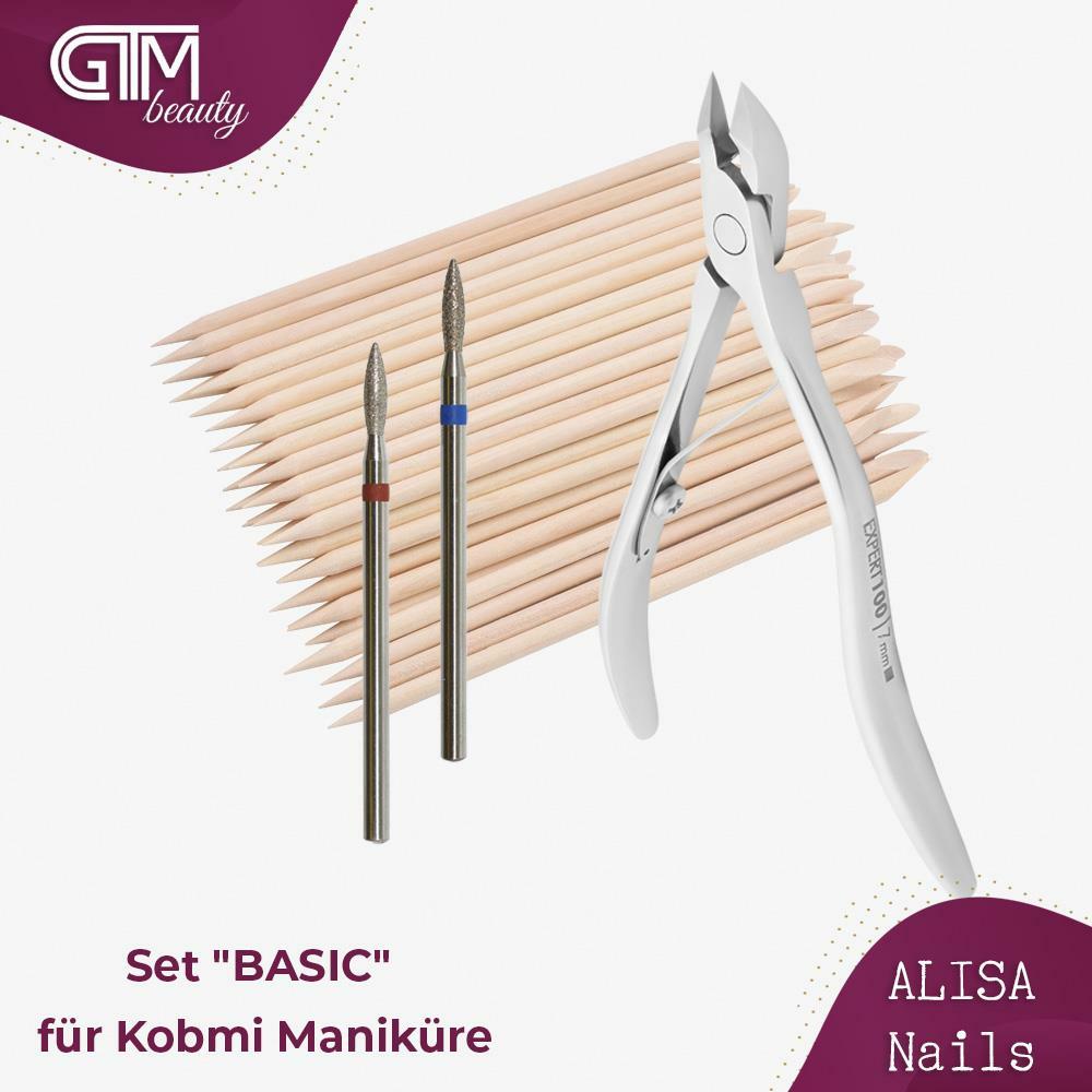 "ALISA Nails - Set ""BASIC"" für Kombi Maniküre"
