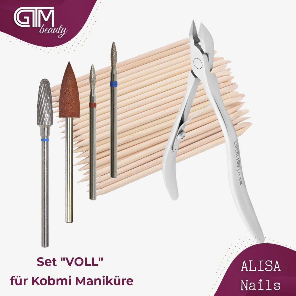 "ALISA Nails - Set ""VOLL"" für Kombi Maniküre"